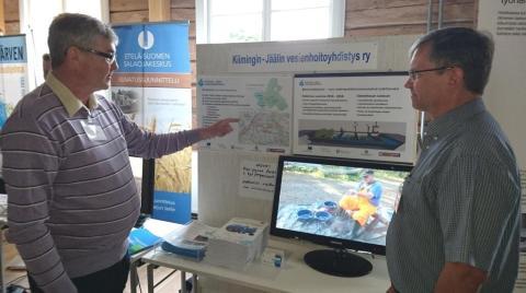 Yhdistys esitteli toimintaansa vesistökunnostusnäyttelyssäLappeenrannassa